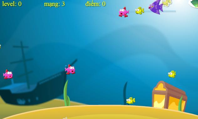 chơi game cá lớn nuốt cá bé miễn phí