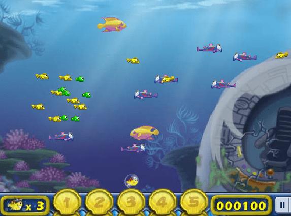 Chơi game cá lớn nuốt cá bé trên điện thoại