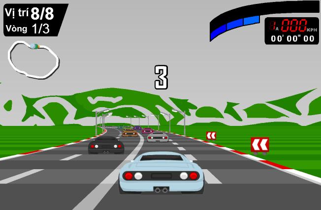 chơi game đua xe 3D cực hay online