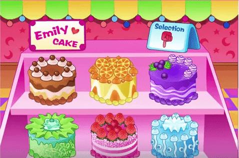 hướng dẩn chơi game nấu ăn làm bánh kem