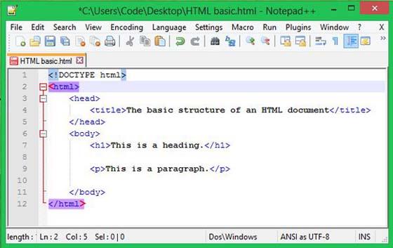 Tài liệu học html cơ bản