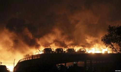 Cháy lớn ở trung quốc