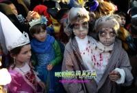 Hóa trang lễ hội halloween kinh dị