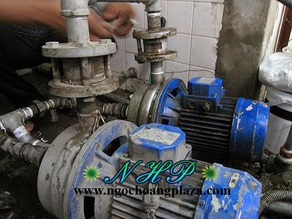 Sửa máy bơm nước tại nhà quận thủ đức