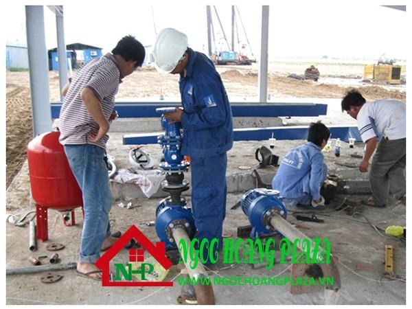 Dịch vụ lắp đặt máy bơm nước tại quận 1